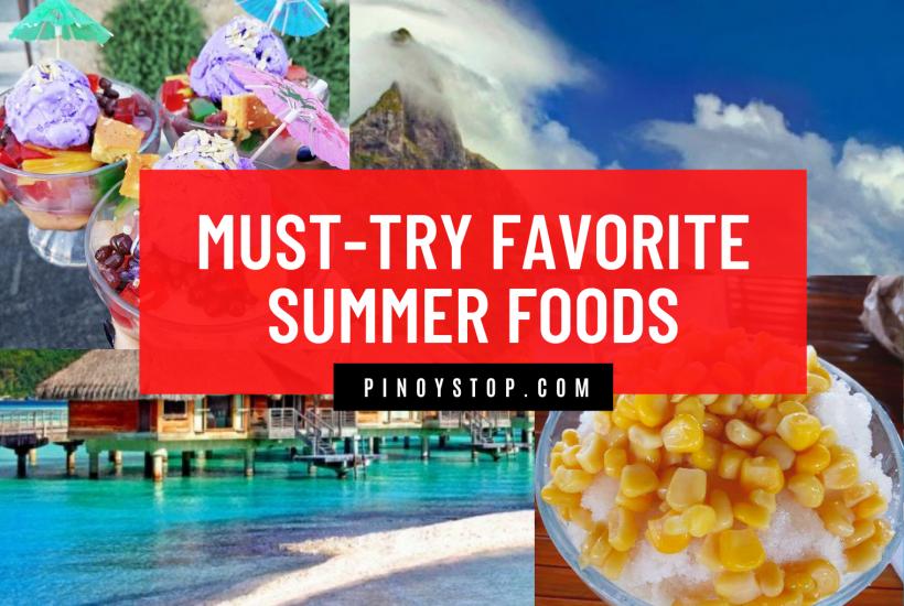 """""""must-try favorite summer food"""""""
