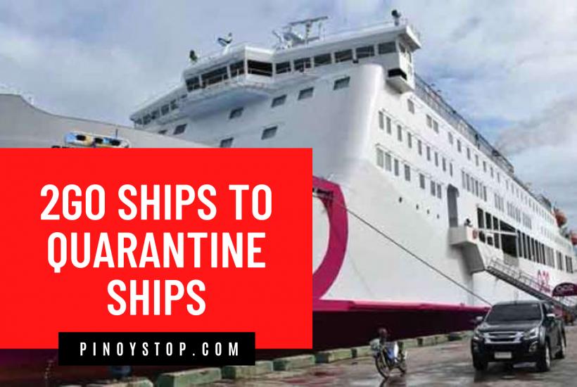 2Go Ships To Quarantine Ships